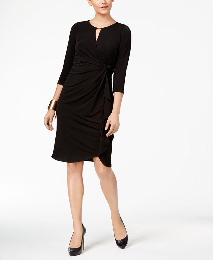 Thalia Sodi - Faux-Wrap Dress