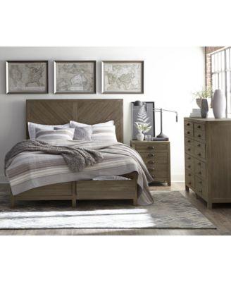 Broadstone Storage Bedroom Furniture, 3-Pc. Set (King Bed, Dresser & Nightstand)