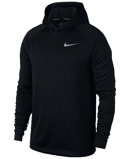 Nike Men's Dry Running Hoodie & Reviews - Hoodies ...
