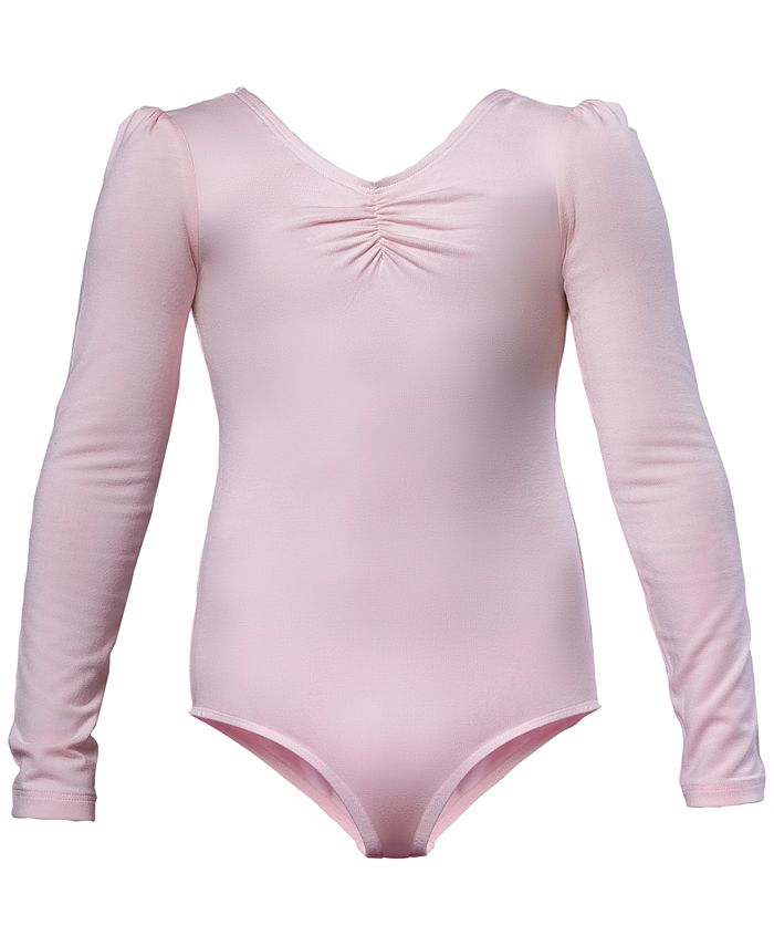 Flo Dancewear - Ruched Leotard, Little Girls (2-6X) & Big Girls (7-16)