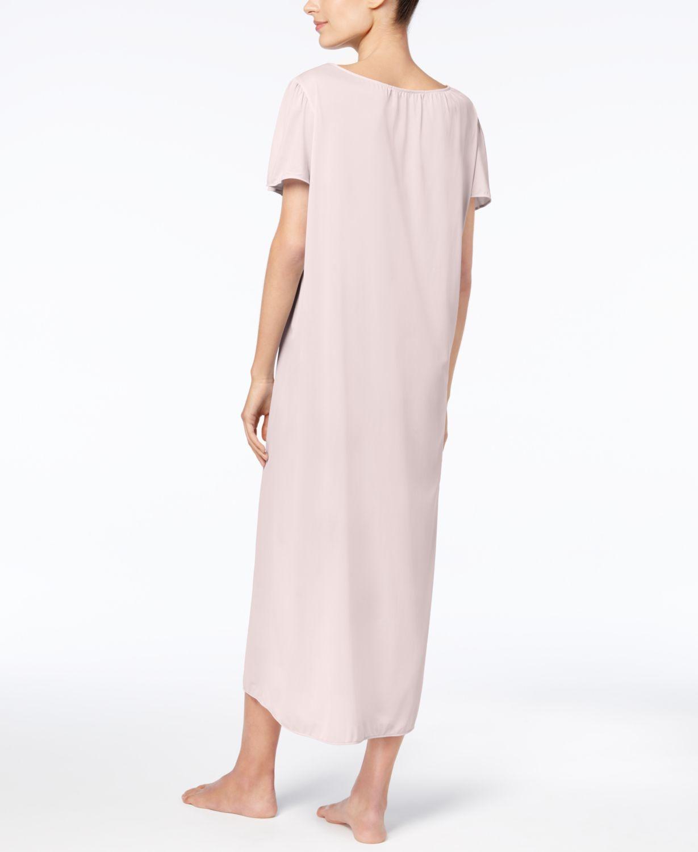 Miss Elaine Tricot Long Gown & Reviews - Bras, Panties & Lingerie - Women - Macy's