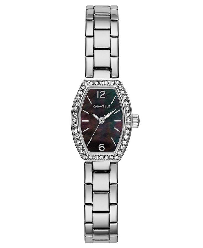 Caravelle - Women's Stainless Steel Bracelet Watch 18x24mm