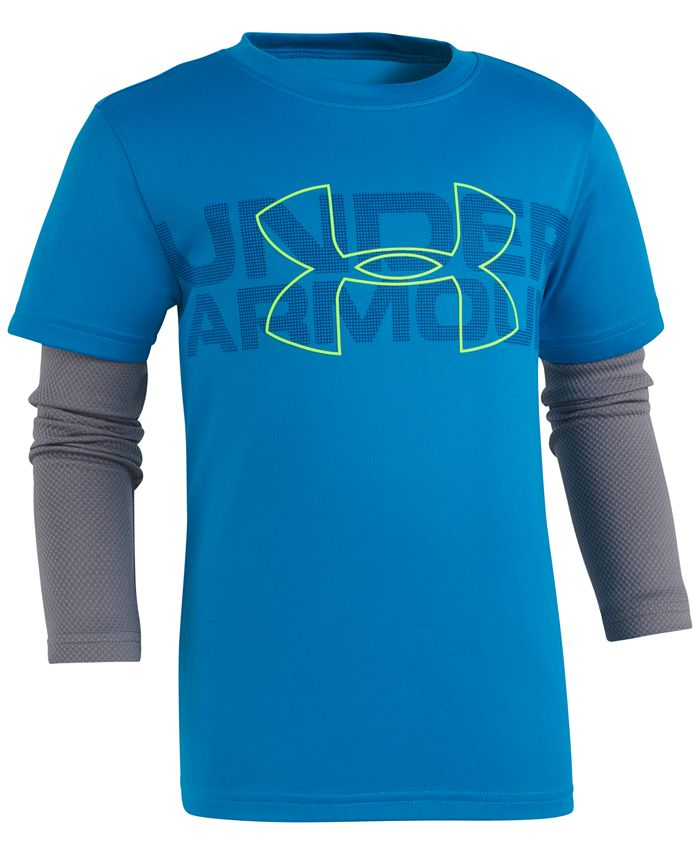 Under Armour - Layered-Look Logo-Print T-Shirt, Toddler & Little Boys (2T-7)