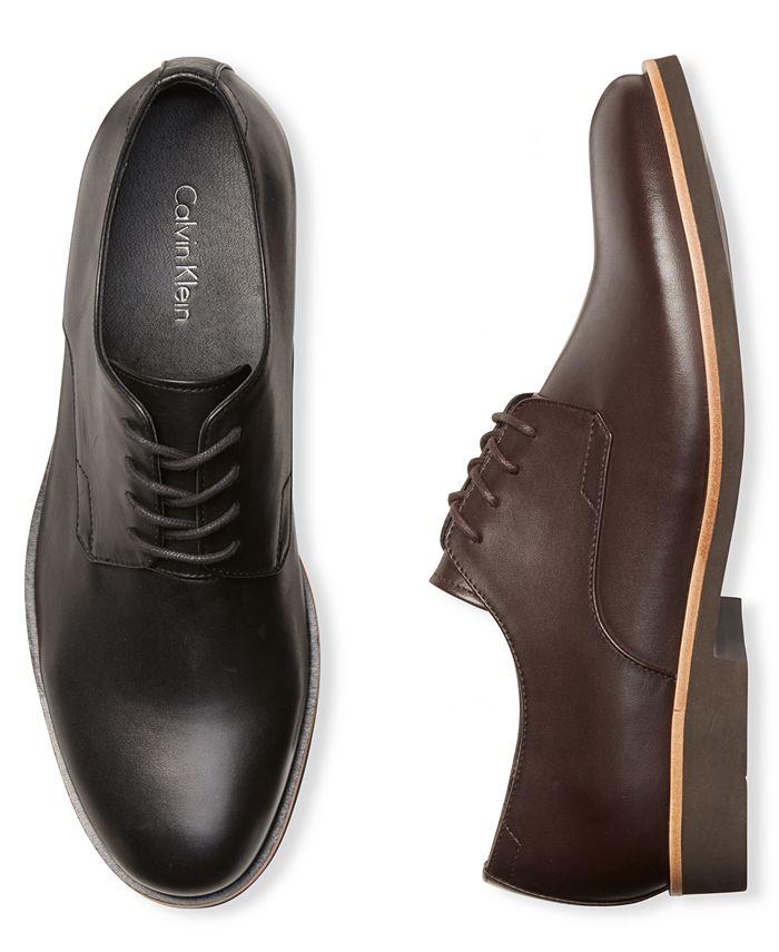 Calvin Klein - Men's Faustino Lace-Up Dress Shoes