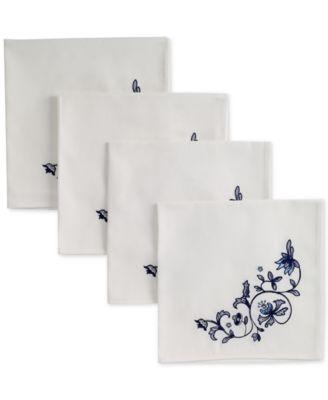 Blue Portofino 4-Pc. Napkin Set