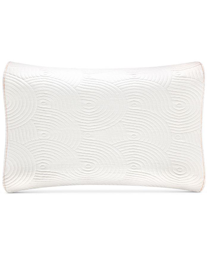 Tempur Pedic Side Sleeper Support Memory Foam Pillow Reviews Pillows Bed Bath Macy S