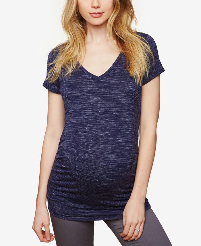Motherhood Maternity - Maternity Ruched T-Shirt