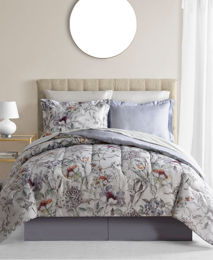 Fairfield Square Collection - Evelyn 8-Pc. Reversible Full Comforter Set