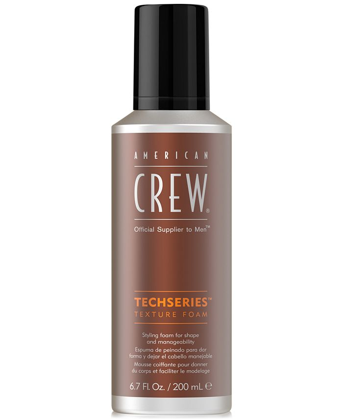 American Crew - Techseries Texture Foam, 6.7-oz.