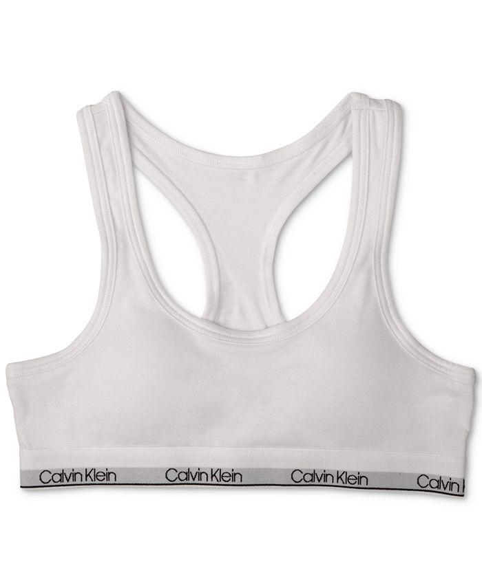 Calvin Klein - Molded Logo Bra, Little & Big Girls (2-16)