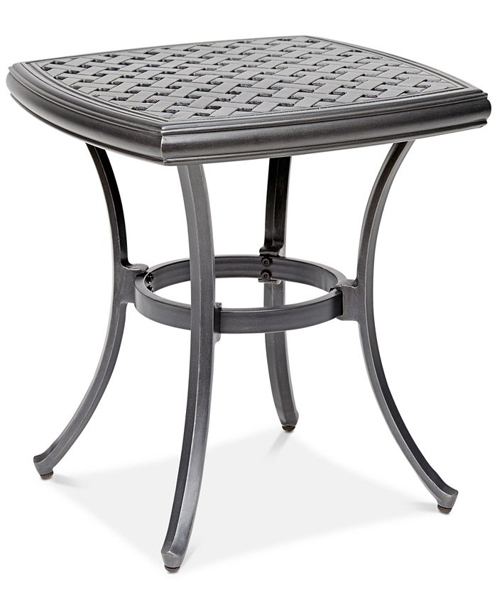 """Furniture - 20"""" Outdoor End Table (Montclaire & Vintage II), Created For Macy's"""