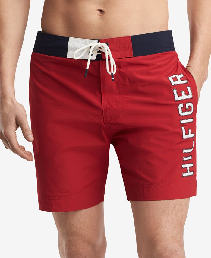 Tommy Hilfiger - Men's Colorblocked Seaboard Board Shorts