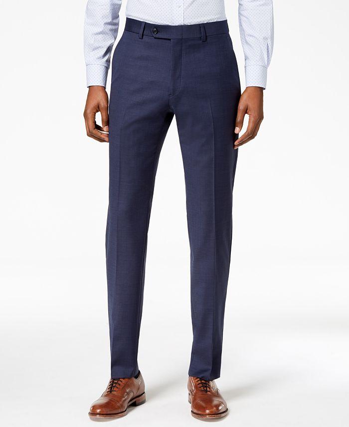 Tommy Hilfiger - Men's Modern-Fit Flex Stretch Suit Pants