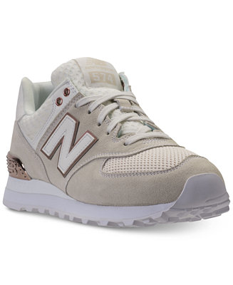 basket new balance 574 rose