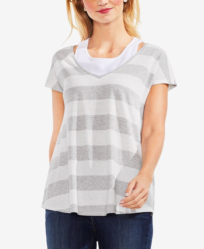 Vince Camuto - Striped T-Shirt