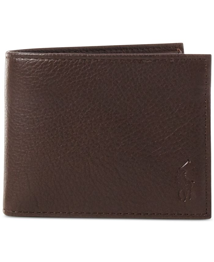 Polo Ralph Lauren - Wallet, Pebbled Passcase