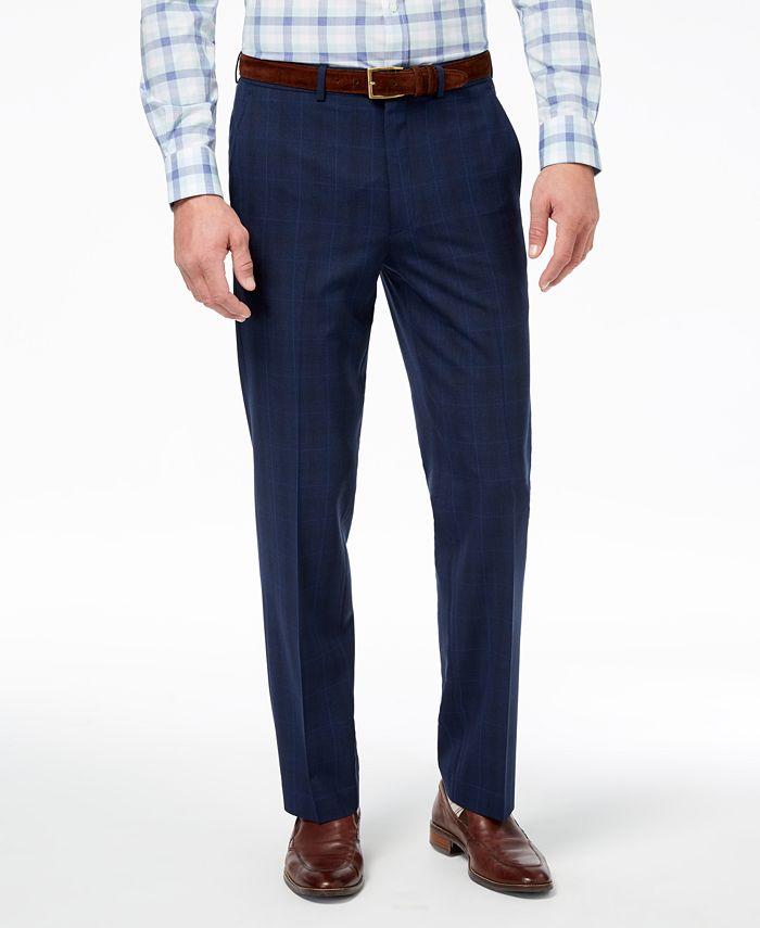 Ryan Seacrest Distinction - Men's Ultimate Modern-Fit Stretch Suit Pants