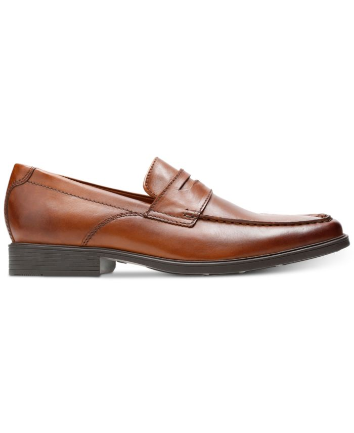 Clarks Men's Tilden Way Leather Penny Loafers & Reviews - All Men's Shoes - Men - Macy's