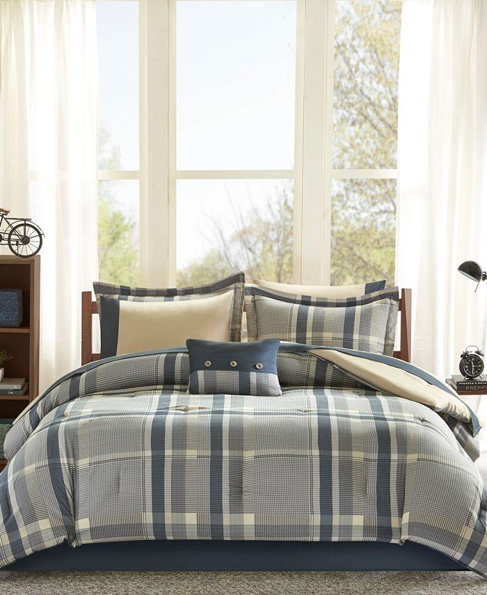 Intelligent Design - Robbie 7-Pc. Twin Comforter Set