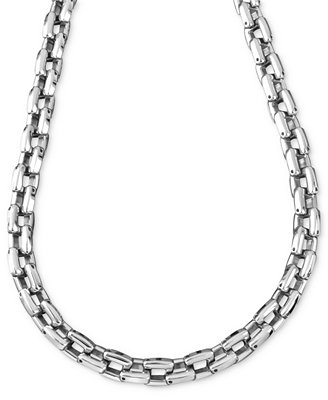 Men's Stainless Steel Necklace, 24