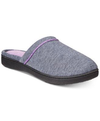 Nicole Jersey Memory-Foam Slippers