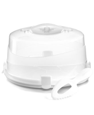 Martha Stewart Collection Round Pie/Cake Carrier