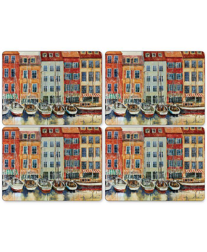 Pimpernel - Boat Scene Placemats, Set of 4