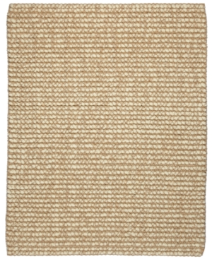 Anji Mountain Area Rug, Zatar Natural Wool Blend & Jute Beige & Ivory 8' x 10'