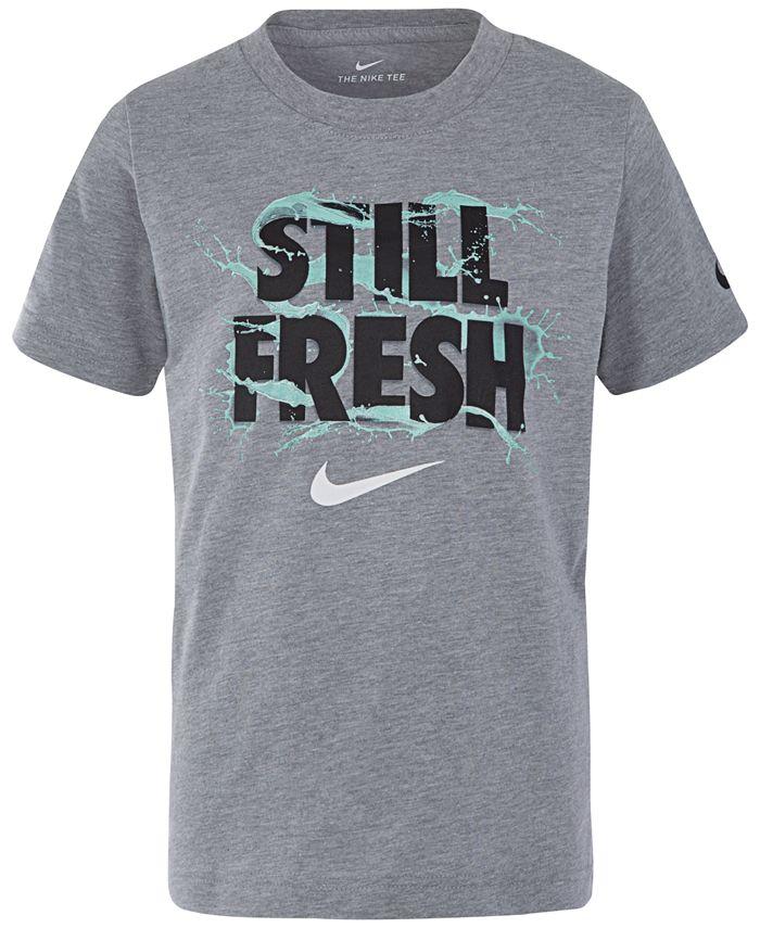 Nike - Fresh-Print Cotton T-Shirt, Little Boys
