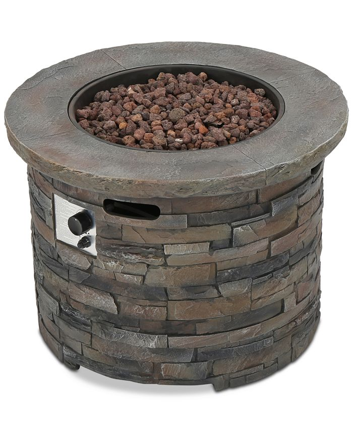 Noble House - Hunter Fire Pit, Quick Ship