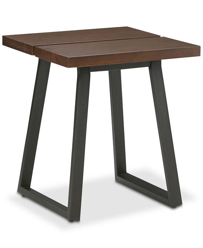 Simpli Home - Tildan End Side Table, Quick Ship