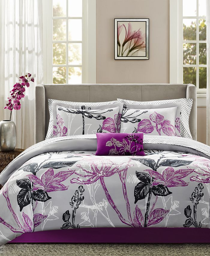 Madison Park - Essentials Claremont 9-Pc. King Comforter Set