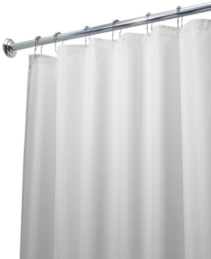 "Interdesign Shower Curtain Liner, Poly Extra Long 72"" x 96"""