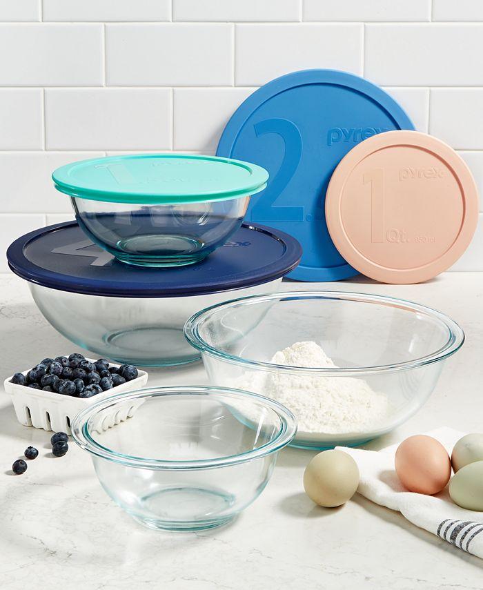Pyrex - 8-Pc. Mixing Bowl Set