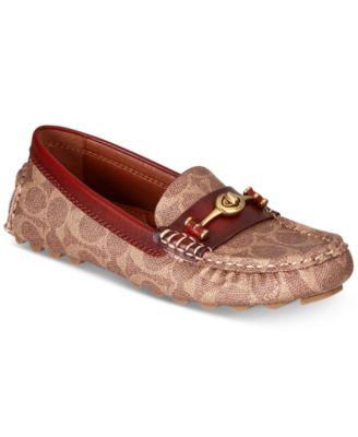 coach shoes flats price