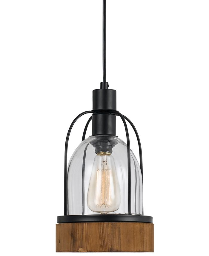 Cal Lighting - 60W Beacon Glass Pendant