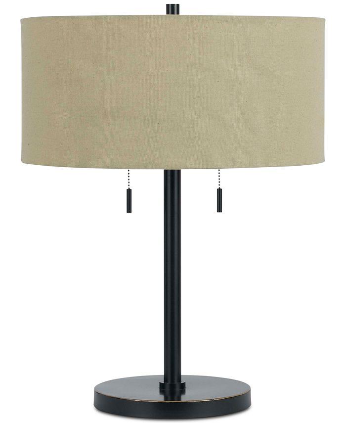 Cal Lighting - 60W Calais Metal Table Lamp