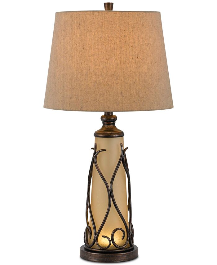 Cal Lighting - 150W 3-Way Taylor Table Lamp with 1W LED