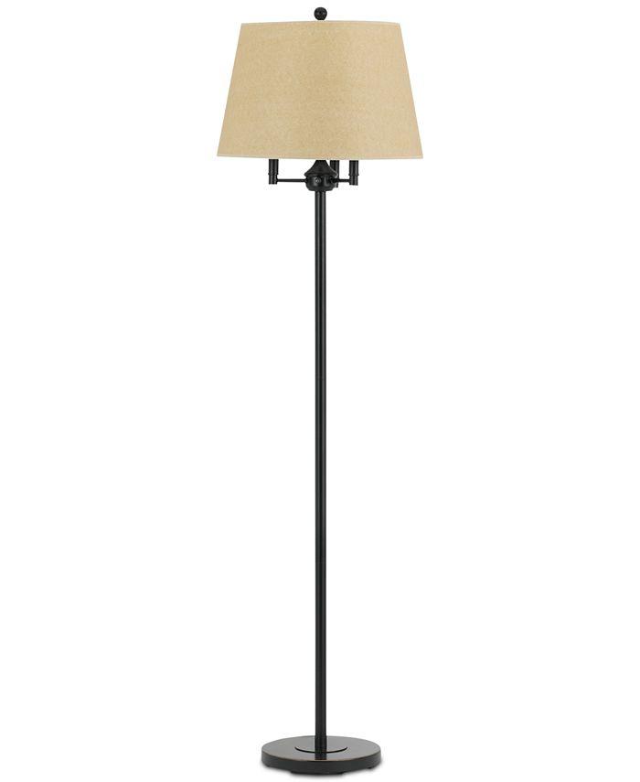 Cal Lighting - 150W 3-Way, 40WX3, Andros Floor Lamp