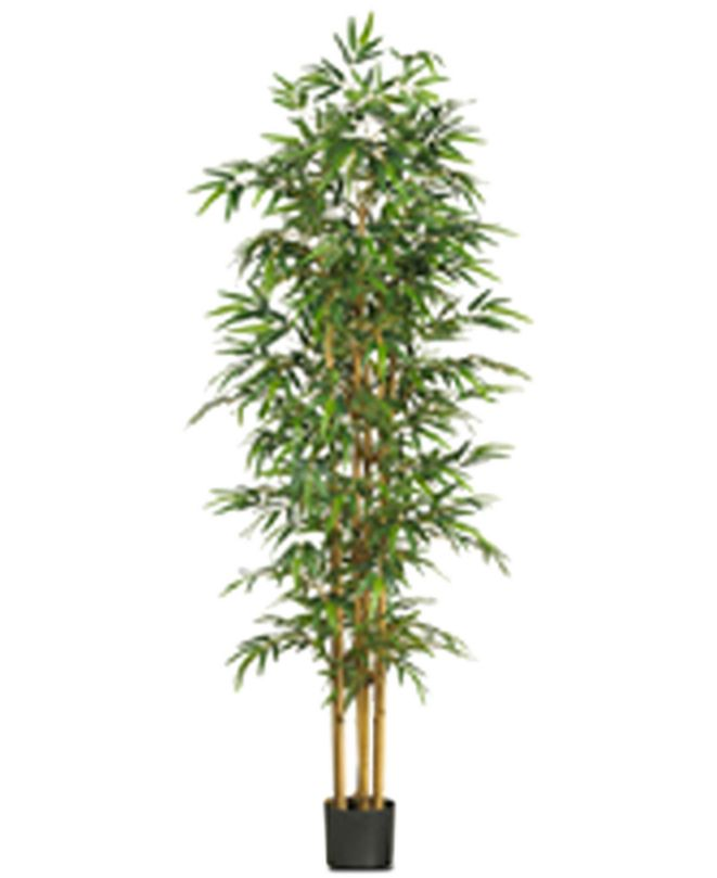 """Nearly Natural 75"""" Artificial Bamboo Tree"""