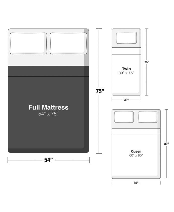 """Beautyrest BRS900-C-TSS 16.5"""" Medium Firm Pillow Top Mattress - Full, Created for Macy's & Reviews - Mattresses - Macy's"""