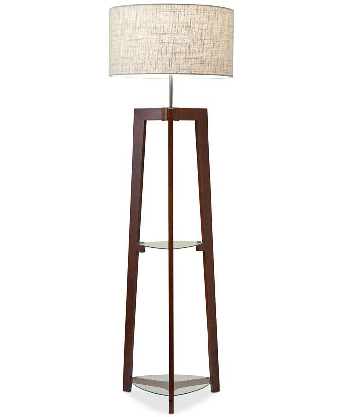 Adesso - Henderson Shelf Floor Lamp