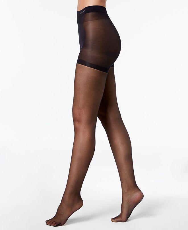 Calvin Klein Women's  Sheer Essentials Stretch Control-Top Pantyhose Sheers
