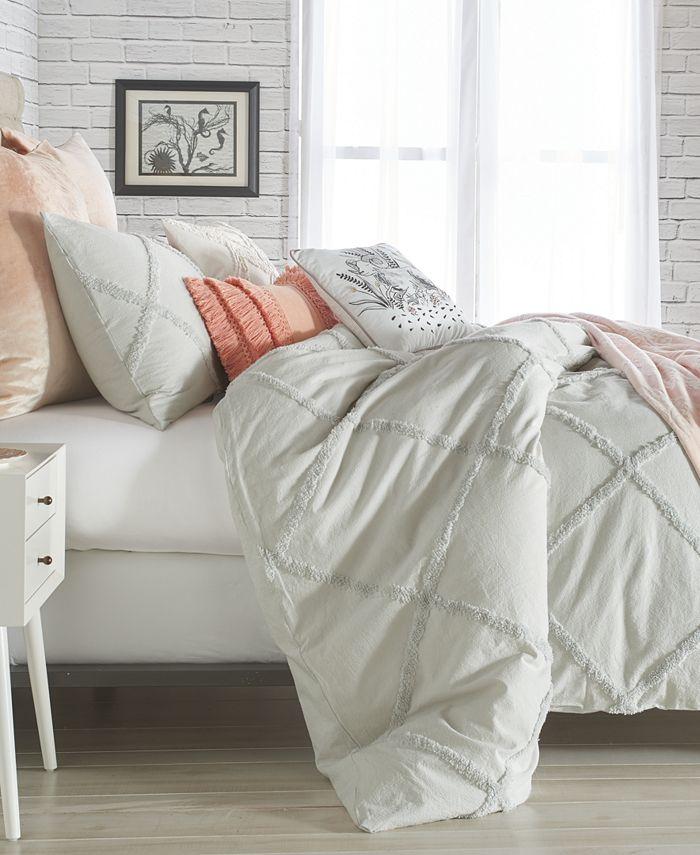 Peri Home - Chenille Lattice 2-Pc. Twin Comforter Set