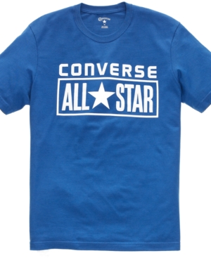 Converse T Shirt, All Star License Plate Crew Neck Tee