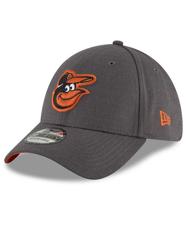 New Era Baltimore Orioles Charcoal Classic 39THIRTY Cap