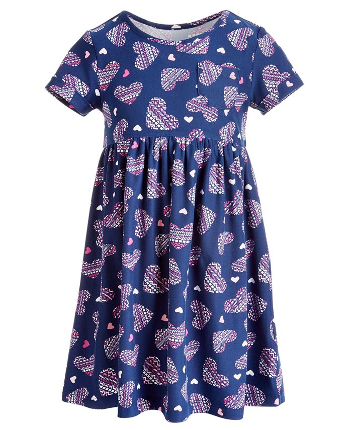 Epic Threads - Little Girls Printed Pocket Dress