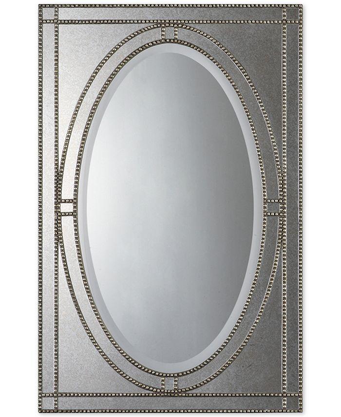 Uttermost - Earnestine Antique Silver Mirror