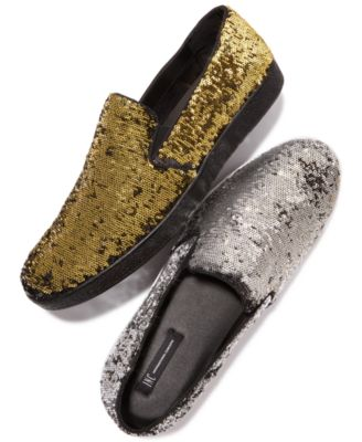 Flash Sequin Slip-Ons, Created