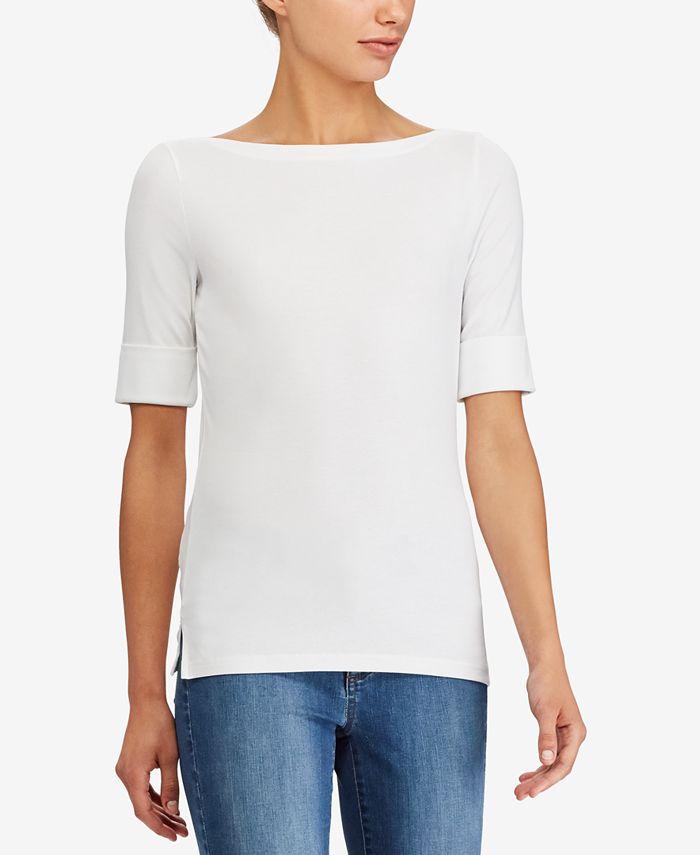 Lauren Ralph Lauren - Stretch Bateau Shirt